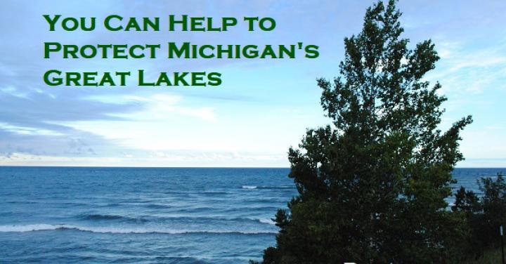 "<a href=""/protecting-great-lakes-michigan"">Protecting the Great Lakes, in Michigan</a>"