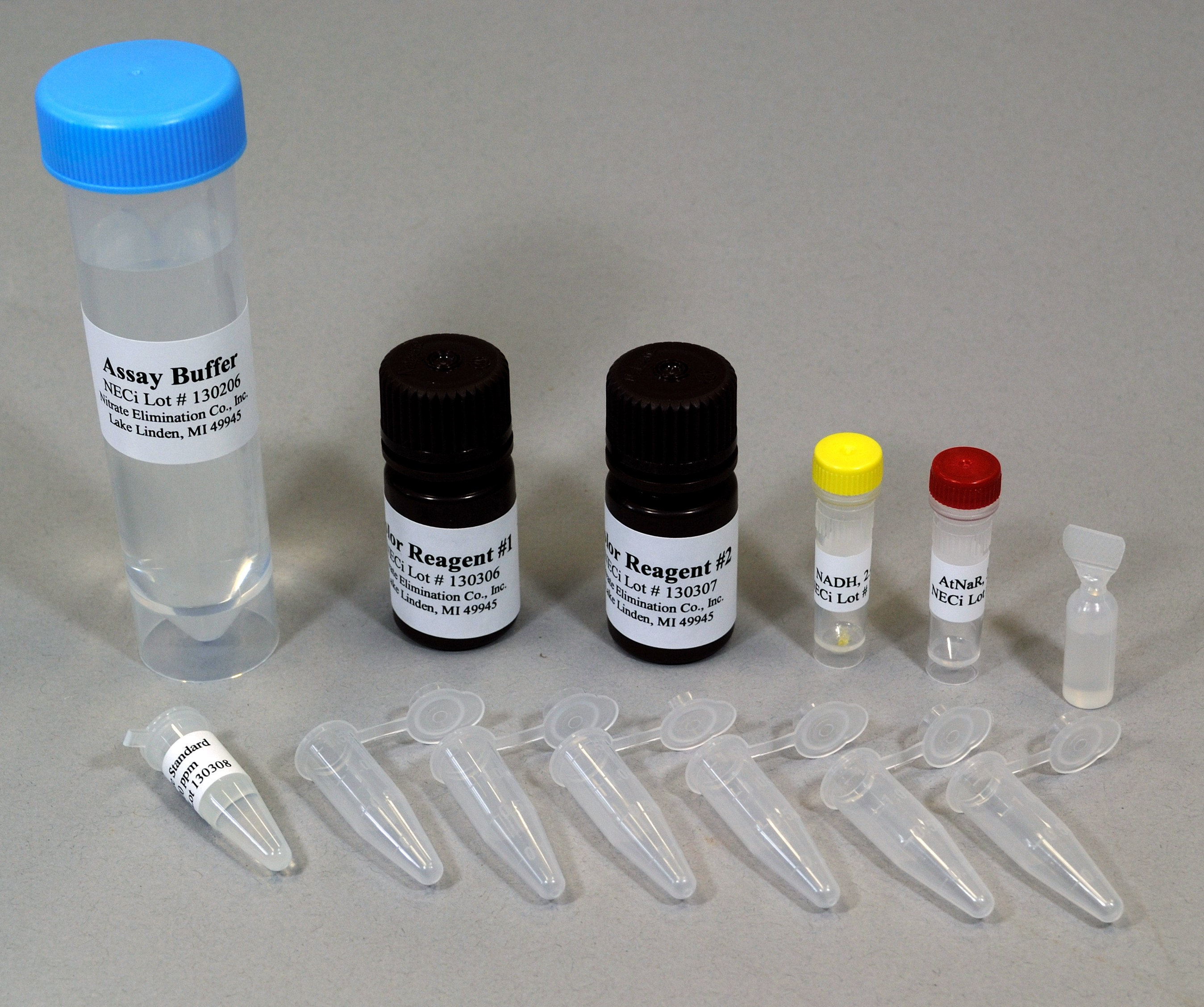 Test Tube Nitrate Test Kit for 25 Samples